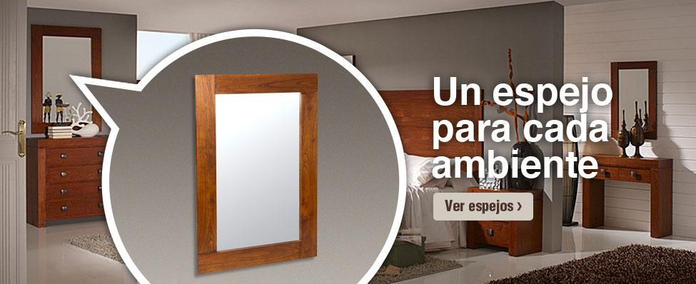 Tienda de muebles y decoraci n online for Espejos decorativos online