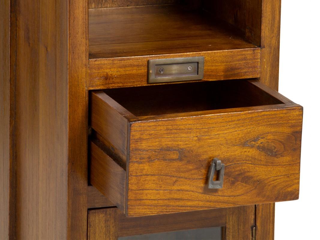 Estanter a muy estrecha de madera estilo colonial Estanteria estrecha bano