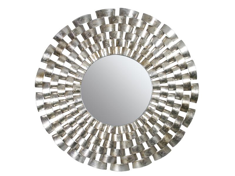 Espejo redondo con marco for Espejo redondo con marco