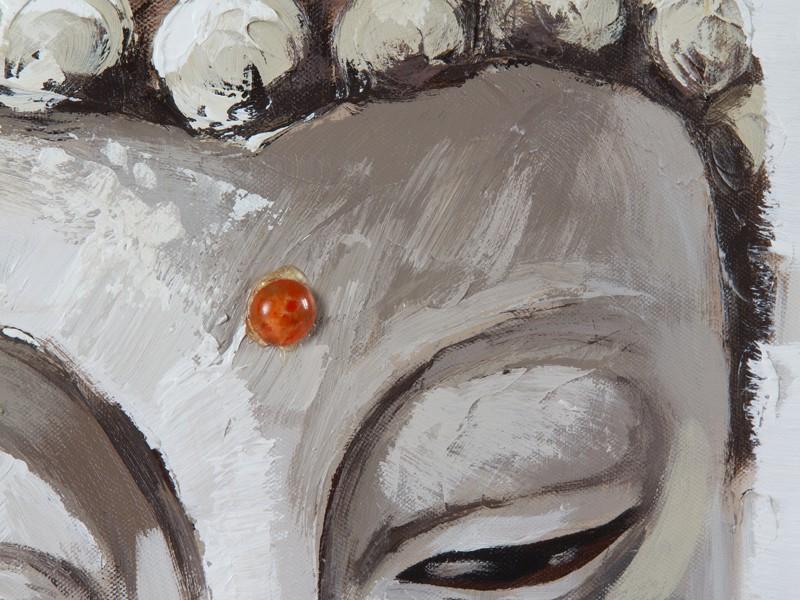 Cuadro budista rectangular - Cuadros de buda decorativos