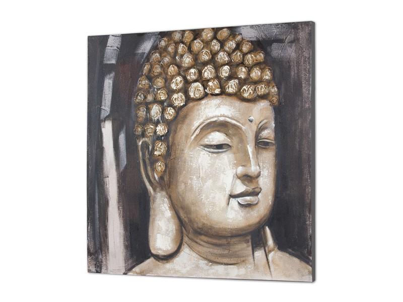 Cuadro cara de Buda al óleo Cuadros decorativos