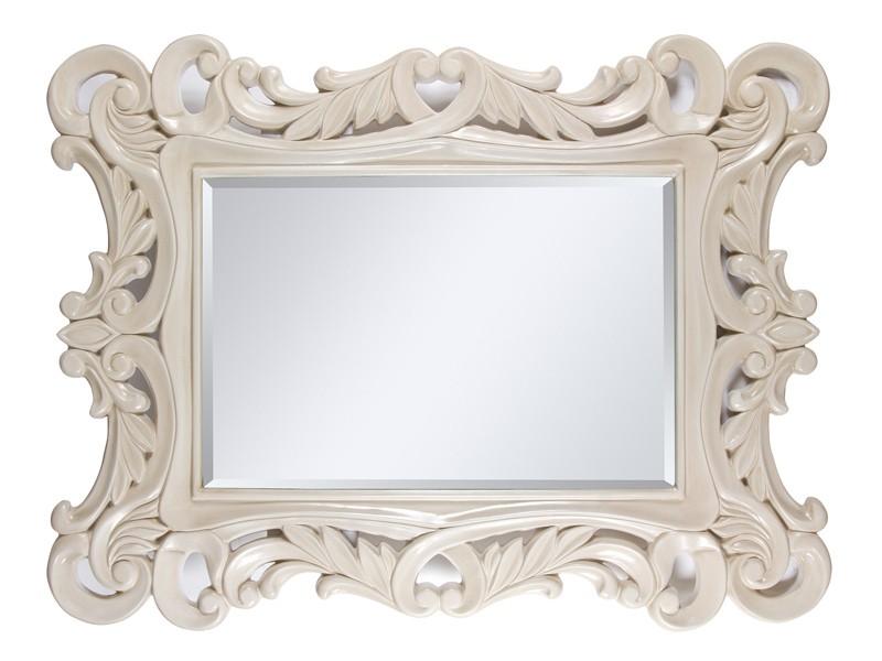 Espejo clasico blanco roto espejos decorativos online for Espejos decorativos vintage