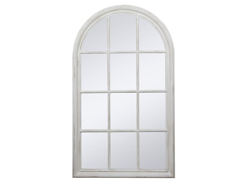 Espejo con forma de ventana de madera estilo vintage - Formas de espejos ...
