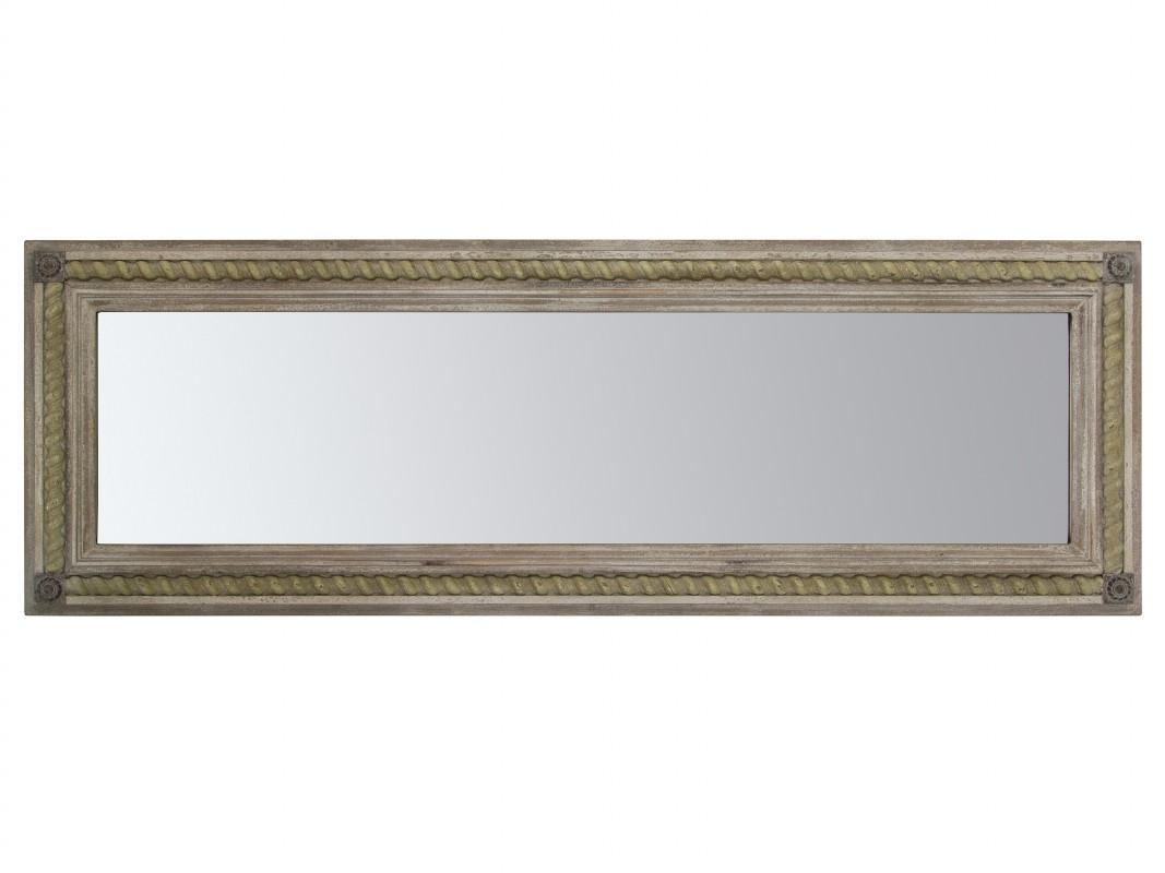 Espejo vertical u horizontal madera envejecida estilo vintage for Espejo horizontal