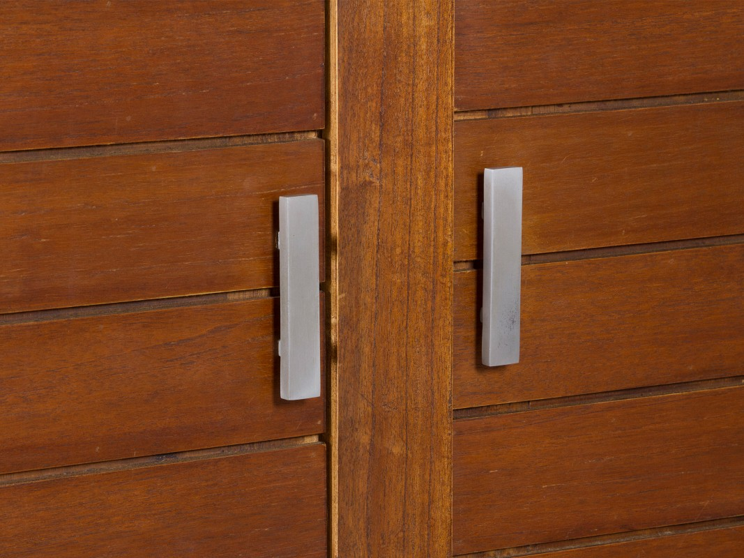 Armario de madera con cajones para dormitorio armarios Armarios jardin baratos