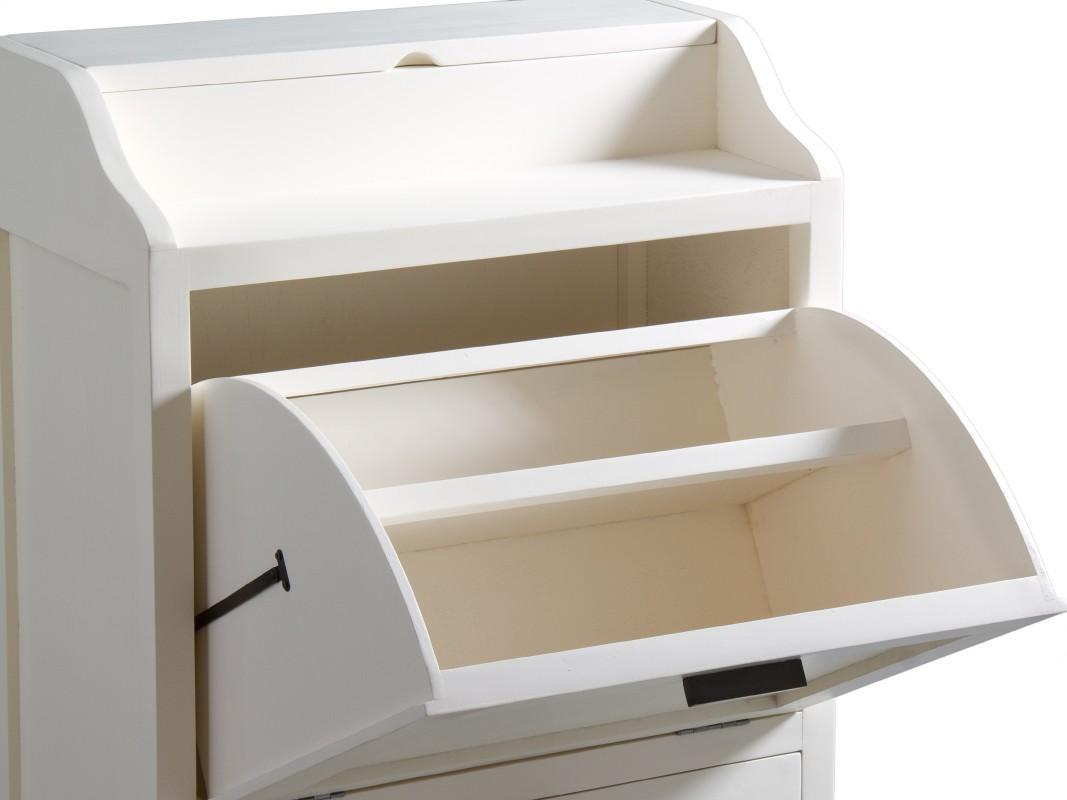 Mueble zapatero 2 puertas de madera de mindi cat logo for Mueble auxiliar dormitorio