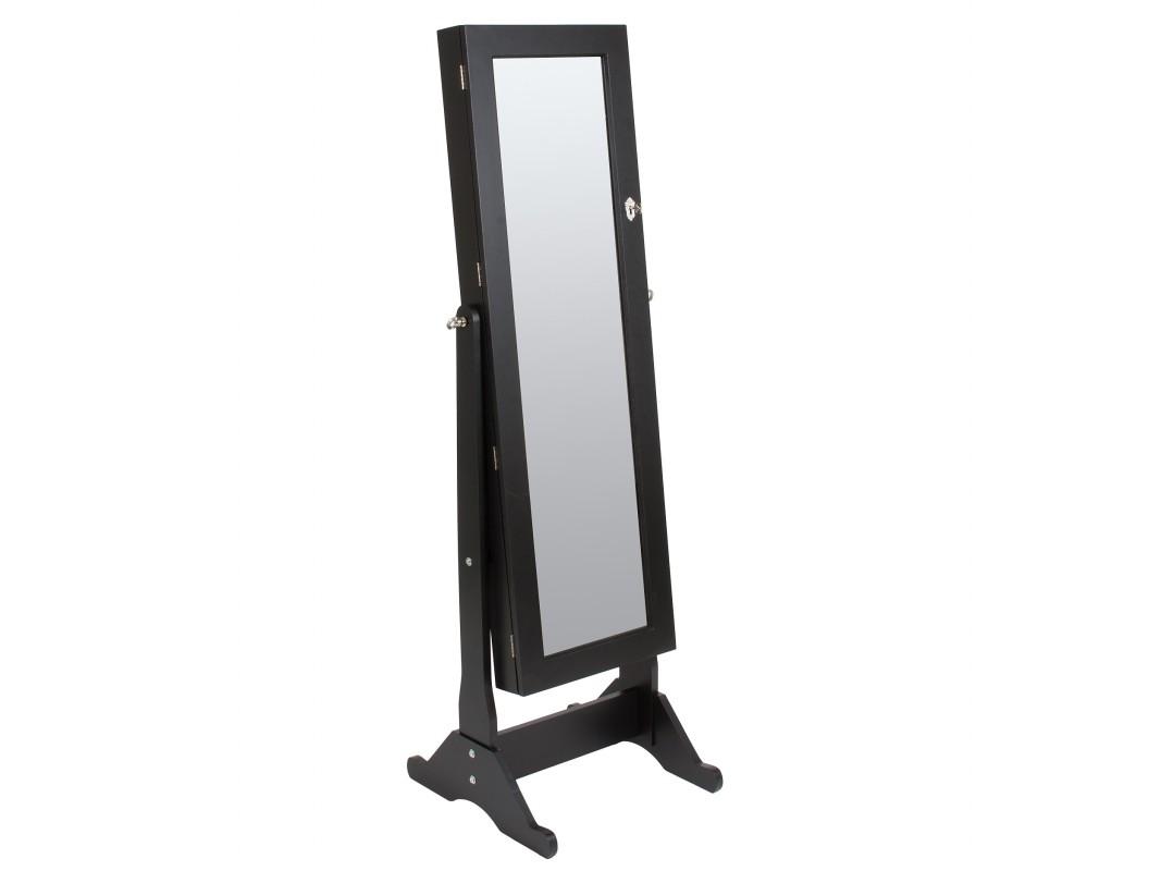 Espejo cuerpo entero con armario joyero venta de espejos for Espejo pared cuerpo entero