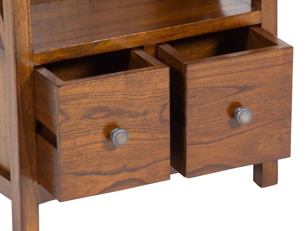 Mueble librer a peque o de madera cat logo muebles librer as for Catalogo de muebles de madera