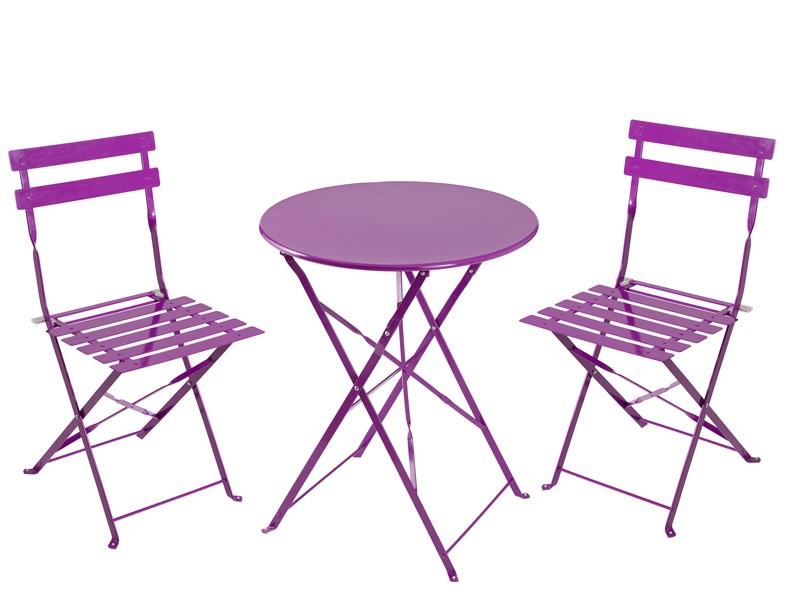 Mesa redonda plegable jard n muebles de exterior online for Mesas de terraza plegables