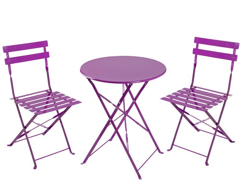 Silla plegable de metal sillas para terraza y jard n for Sillas terraza jardin