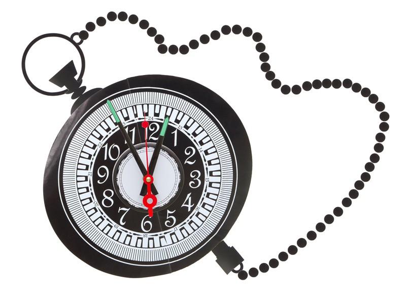 Reloj de pared adhesivo cadena - Reloj de cadena ...