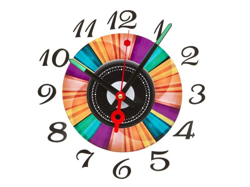 Reloj adhesivo de pared colores categor a decoraci n - Reloj de pared adhesivo ikea ...