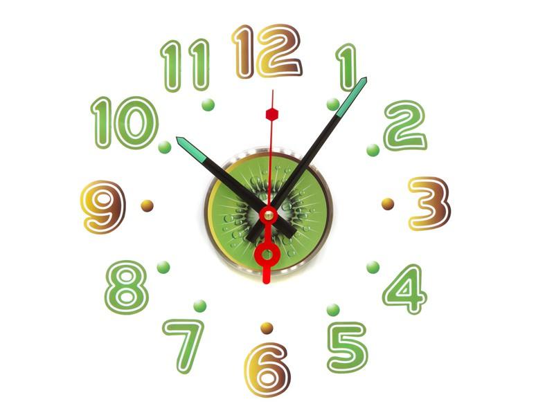 Reloj de pared adhesivo kiwi - Reloj de pared adhesivo ikea ...