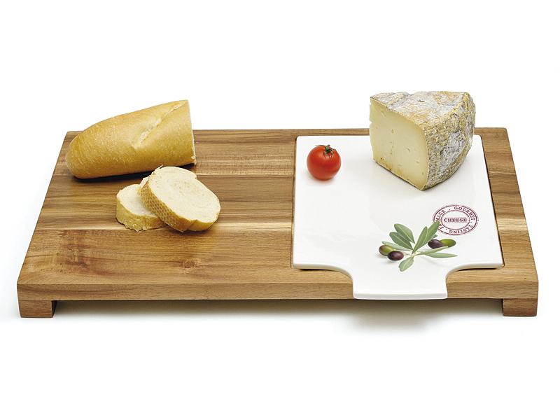 Tabla de corte de madera y porcelana para cocina for Tablas de corte cocina