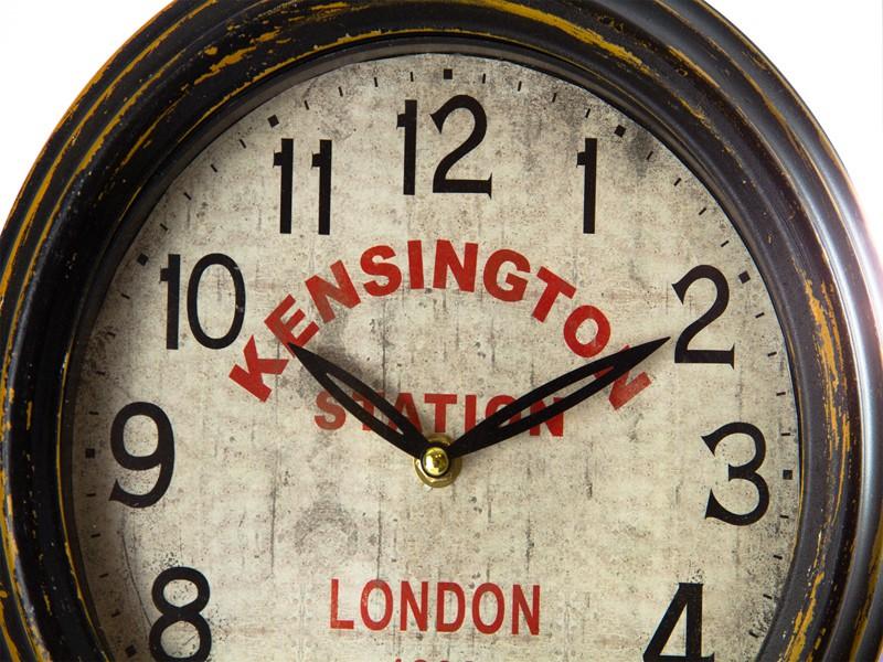 Reloj estaci n de tren estilo vintage relojes decorativos - Relojes decorativos para salon ...