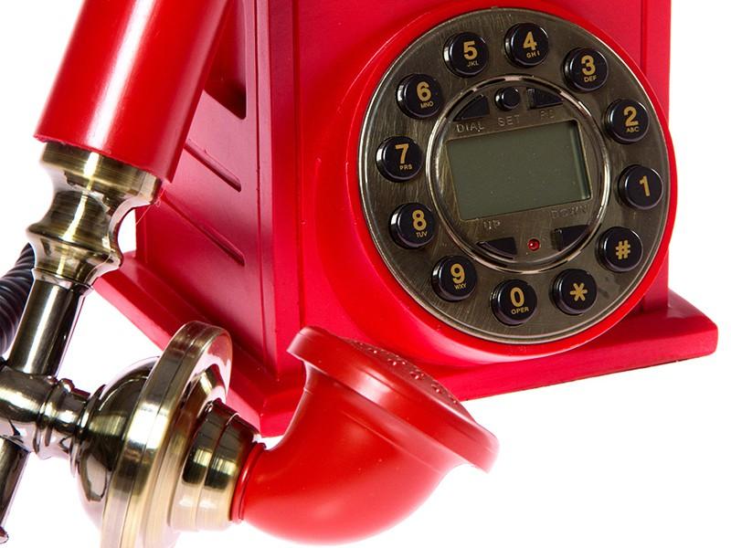 Tel fono fijo vintage cabina roja londinense decoraci n for Telefono informacion ministerio interior