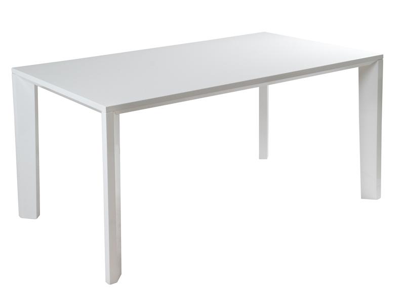 Mesa de comedor blanca lacada muebles y decoraci n online for Mesa comedor blanca lacada