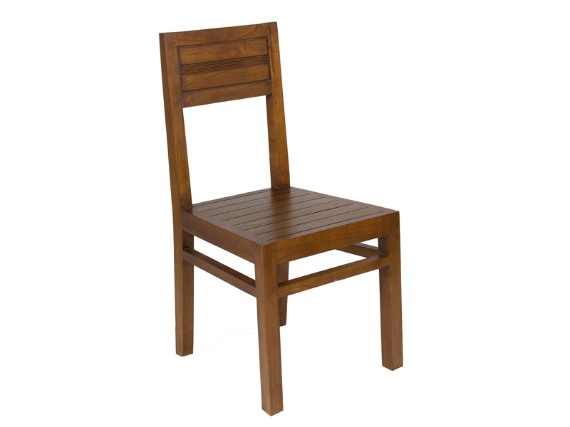 Silla para sal n comedor de madera estilo colonial grace for Sillas de madera para salon