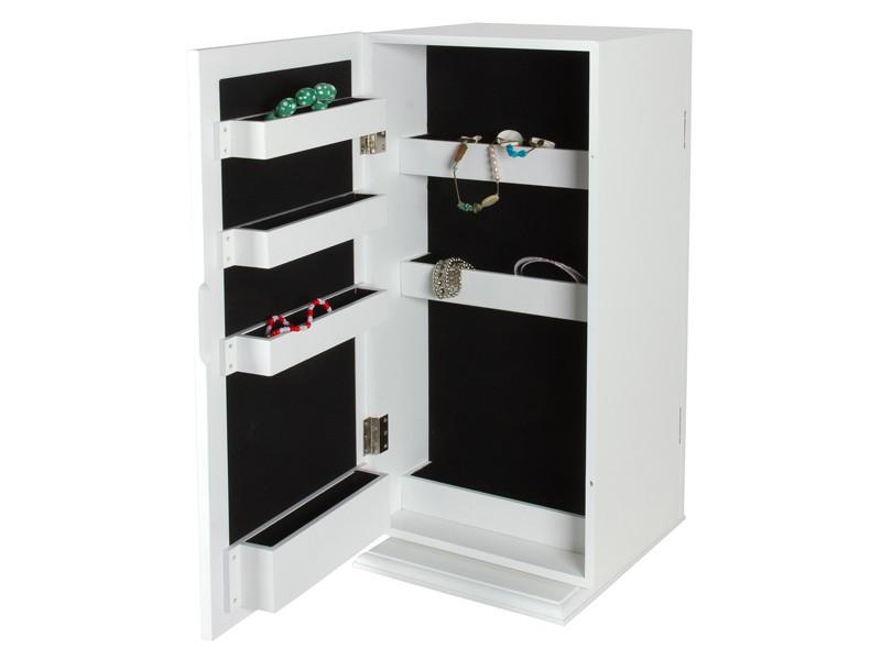 Mueble de maquillaje blanco