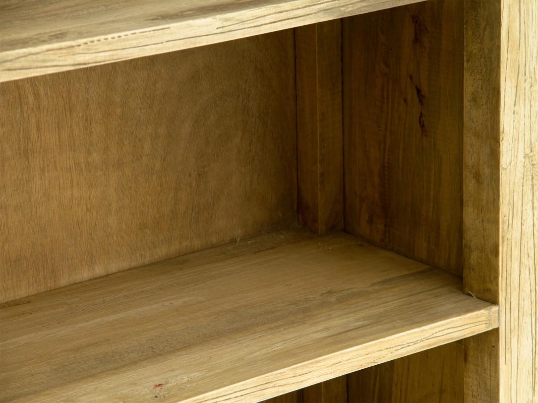 Estanteria rustica de madera envejecida estanterias online - Estanterias rusticas de madera ...