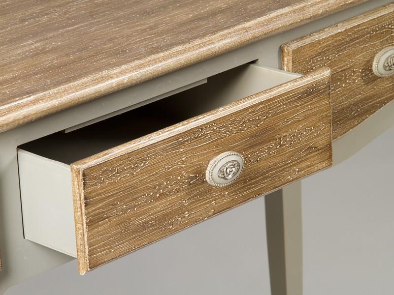 Consola recibidor de madera estilo luis xv muebles vintage for Consola recibidor vintage