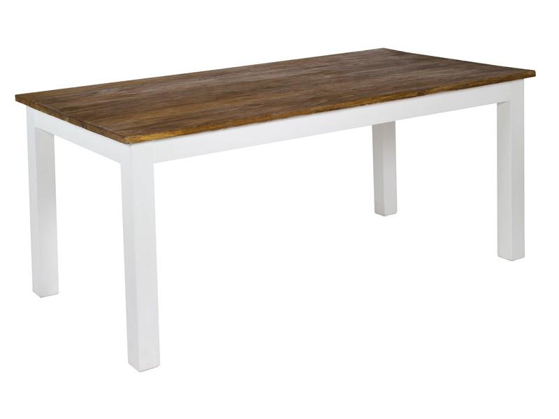 Mesa de comedor estilo colonial n rdico de madera de acacia for Mesas estilo colonial