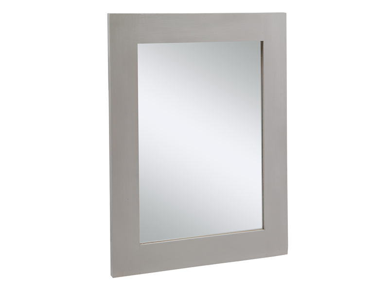 Espejo gris de madera espejos decorativos online for Espejos decorativos en madera