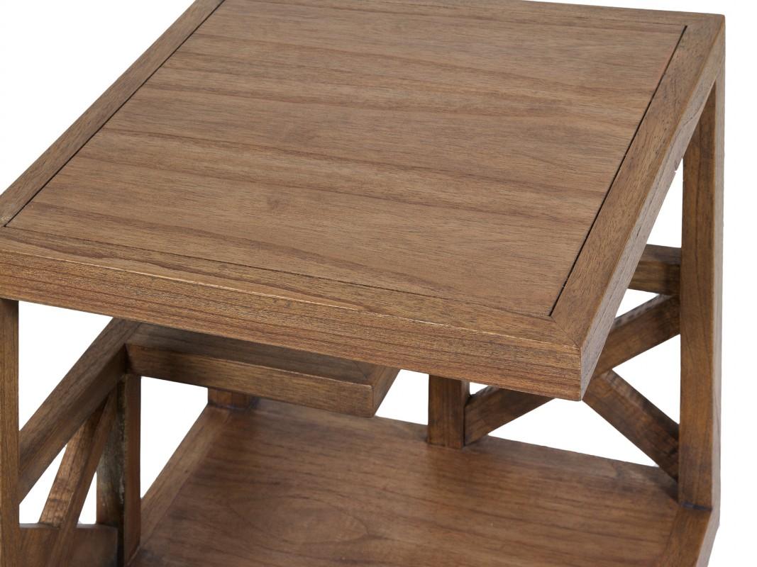 Mesa esquinera de madera estilo n rdico rinconeras online for Mesa esquinera comedor