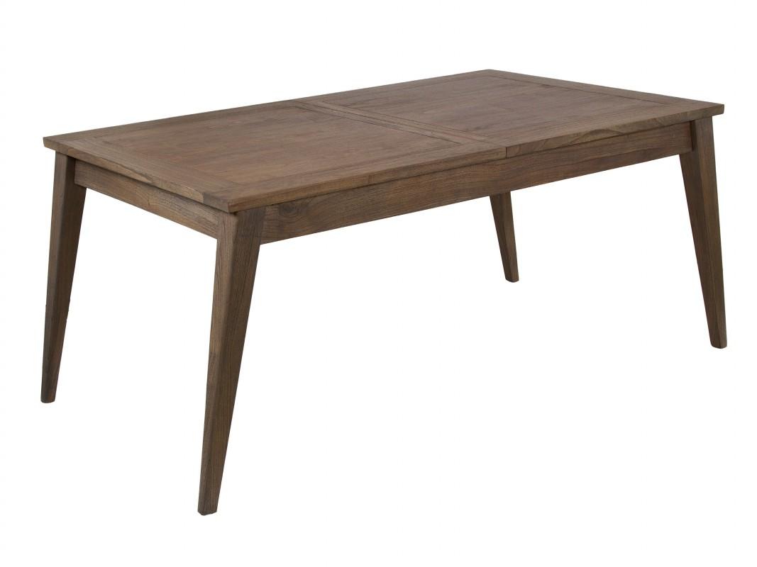 mesa comedor escandinava extensible de madera de mindi