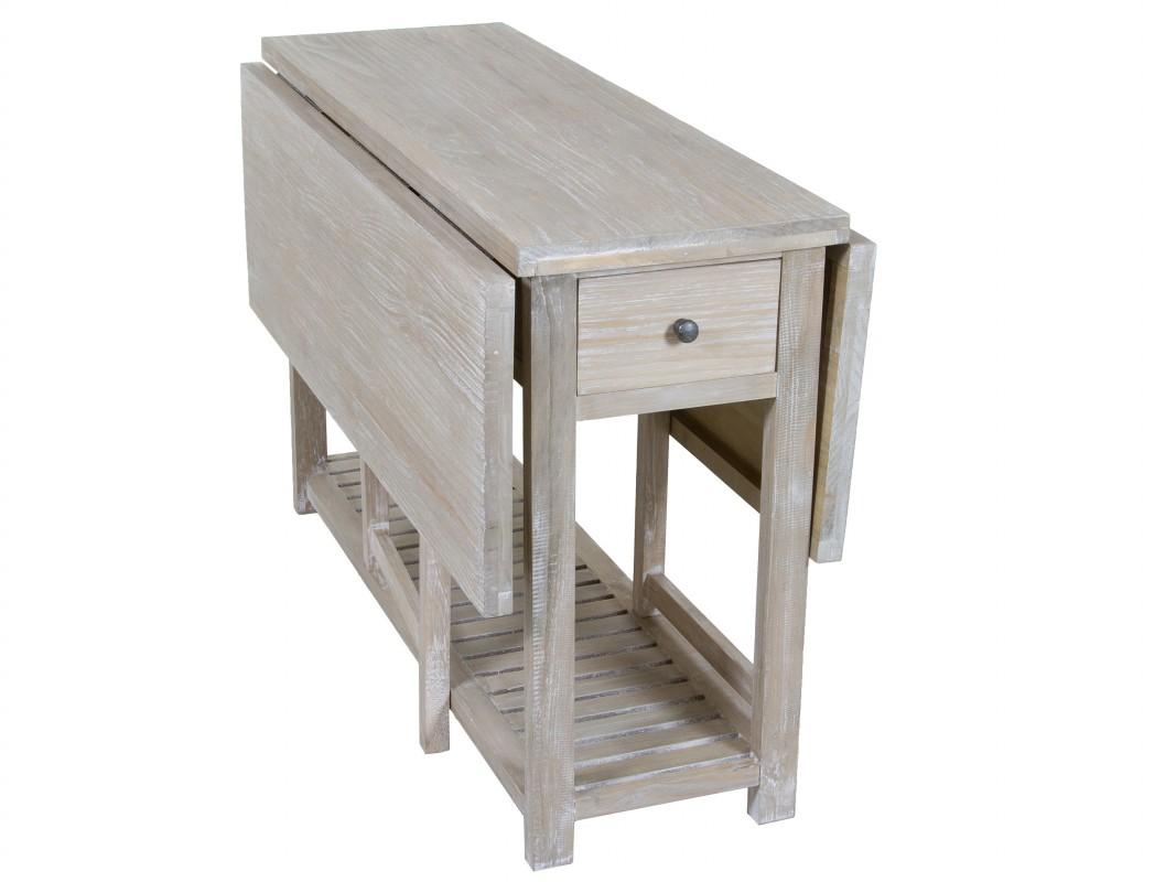 mesa plegable vintage madera envejecida - mesas libro online