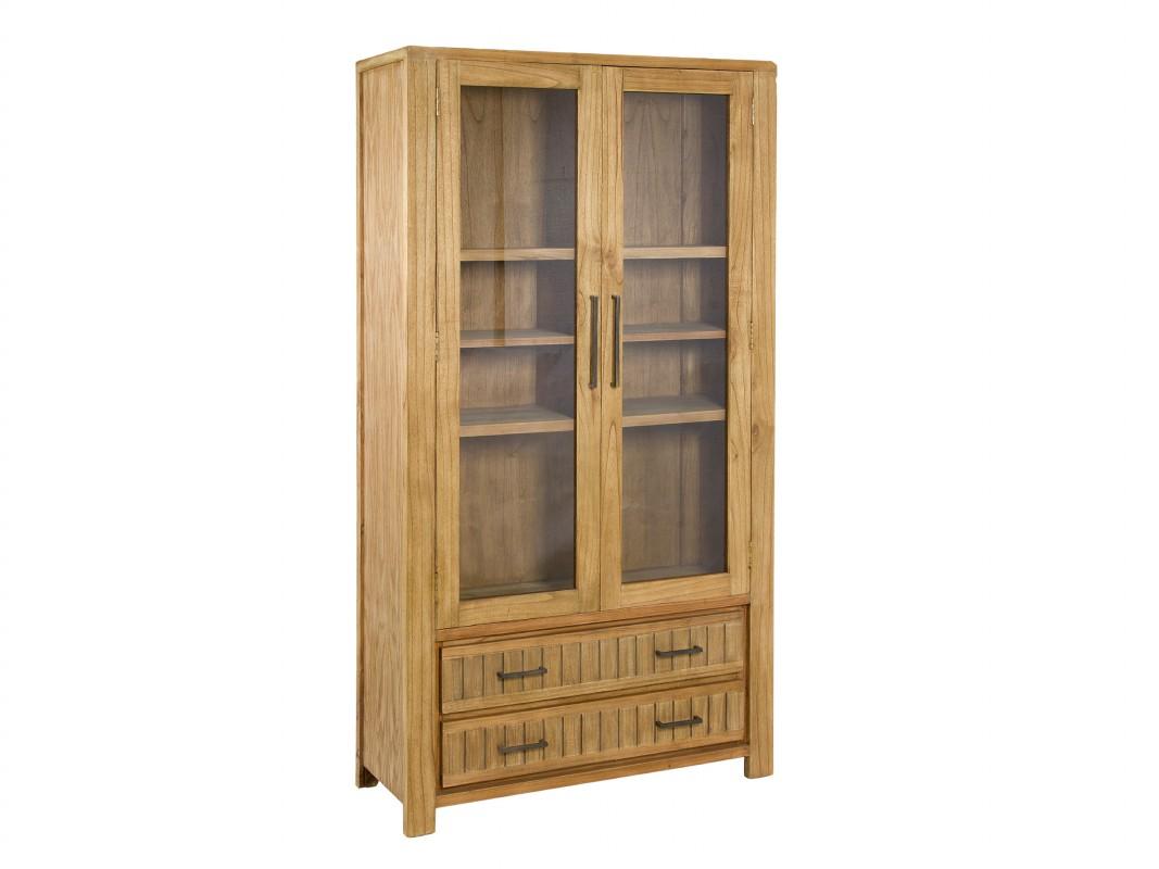 Alacena r stica de madera de mindi venta de vitrinas online - Alacena de madera ...