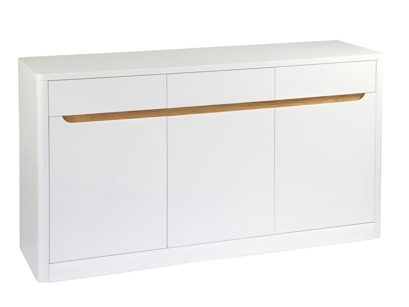 Mueble aparador de dm lacado en blanco cat logo aparadores - Dm lacado blanco ...