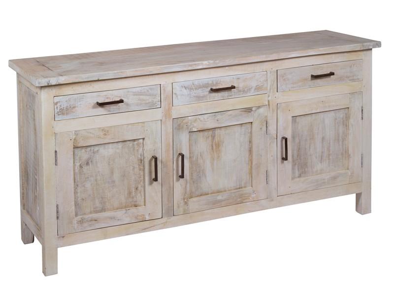 Aparador Verona Jysk ~ Aparador rústico vintage de madera envejecida