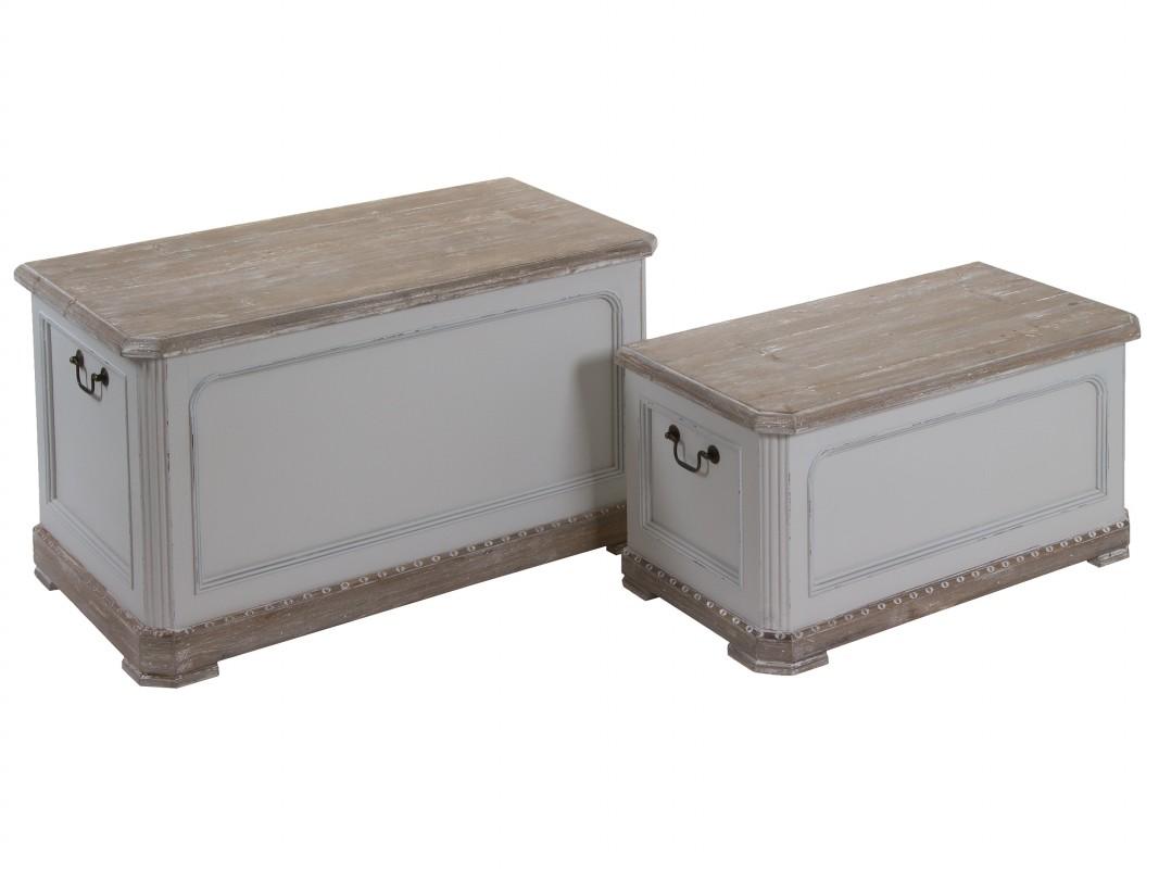Baules originales cuvano de navidad dos hermanas - Baules baratos madera ...