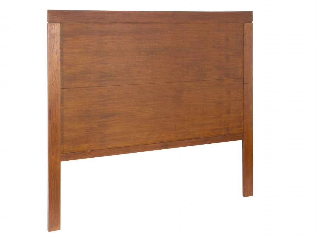 Cabezal para cama de matrimonio de 160 cm madera de mindi - Cabeceros coloniales ...