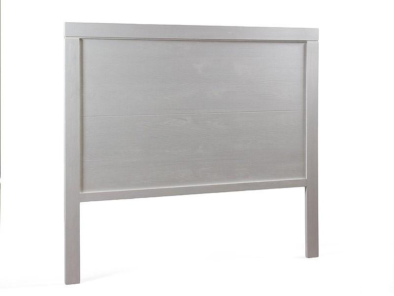 Cabecero de madera blanco roto 160 cm muebles dormitorio - Cabeceros de madera blanco ...