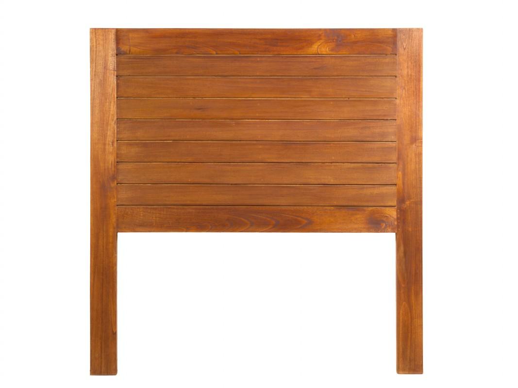 Cabecero individual de madera estilo colonial cabeceros cama - Cabeceros rusticos de madera ...