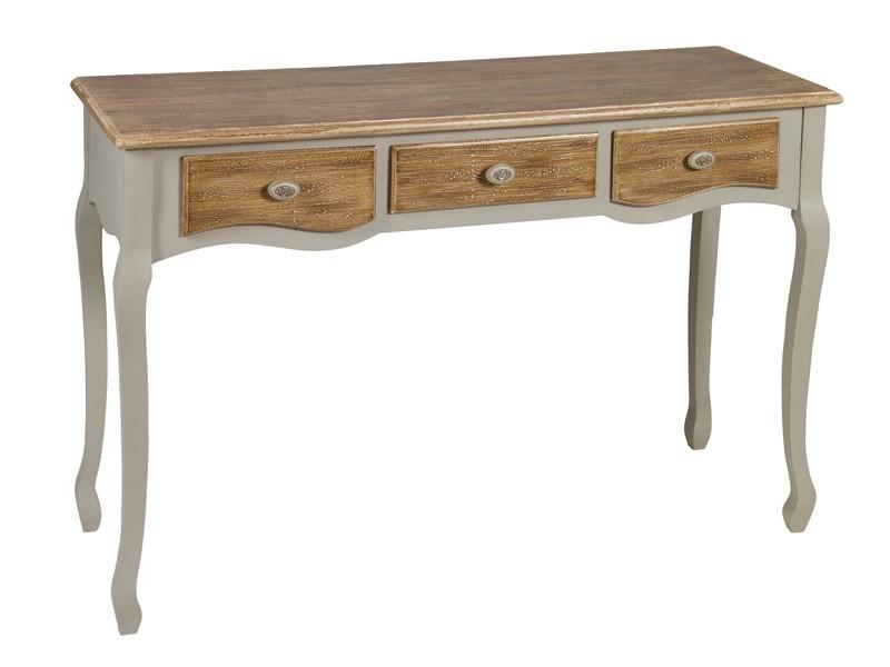 Consola recibidor de madera estilo luis xv muebles vintage for Muebles vintage on line