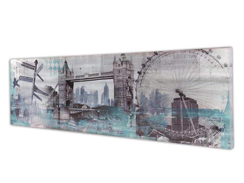 Captivating Cuadro Vintage Londres