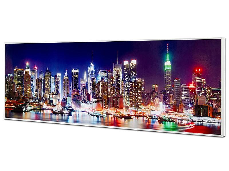 Cuadro luces de New York de noche - Catálogo cuadros