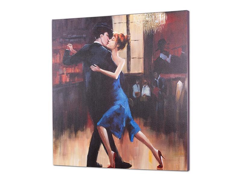 Cuadro pareja bailando tango cat logo cuadros decorativos - Cuadros de parejas ...