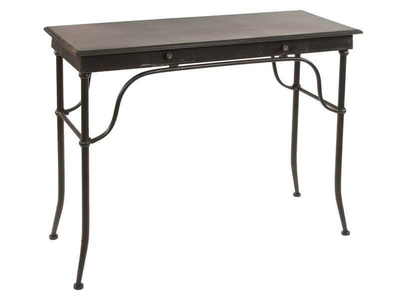 escritorio de metal envejecido estilo industrial vintage On escritorio de metal de estilo industrial
