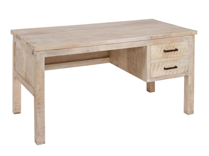 Escritorio vintage de madera envejecida mesa de - Escritorios rusticos de madera ...