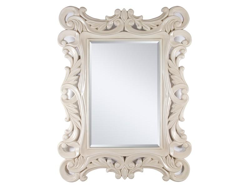Espejo clasico blanco roto espejos decorativos online for Espejos grandes de pared vintage
