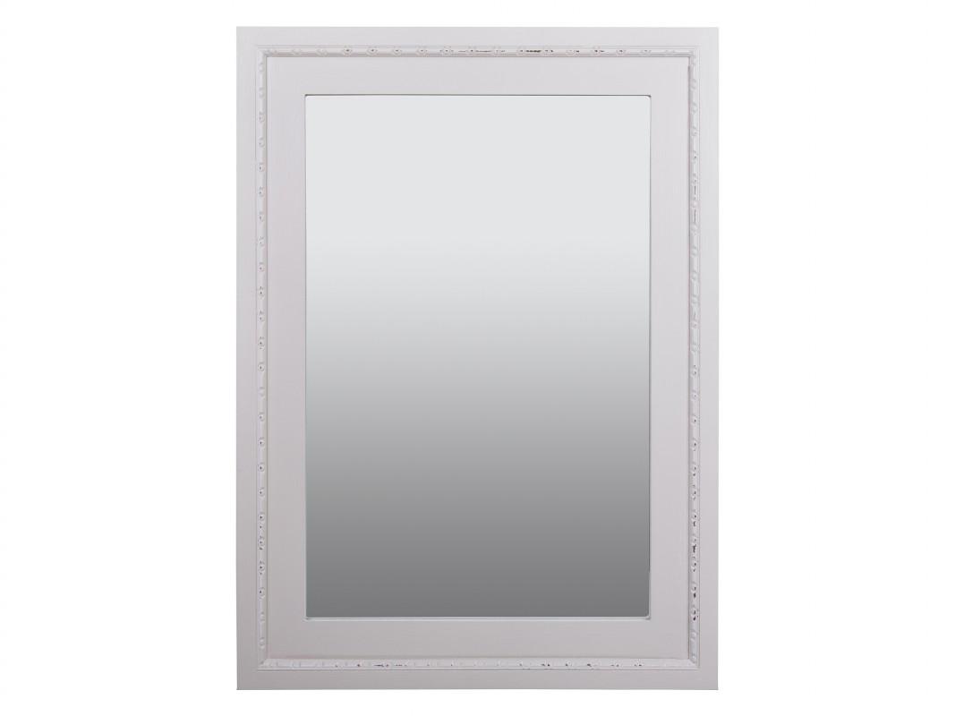 espejo blanco envejecido vintage espejo de pared blanco