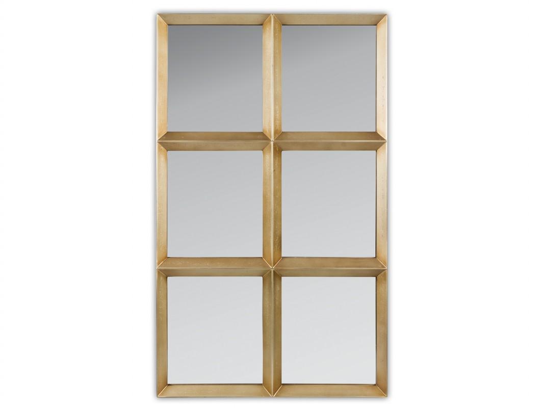 Espejos dorados modernos mini aseo en blanco con espejo for Espejos decorativos dorados