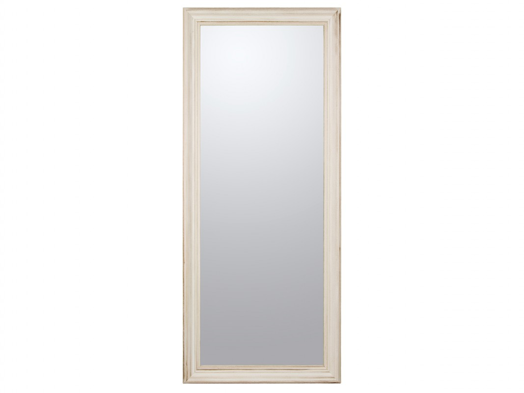 Espejo vestidor blanco roto decapado espejos online - Espejo cuerpo entero ikea ...