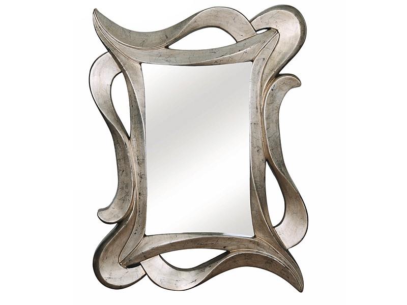Espejo vintage plata efecto decapado venta espejos online for Espejos de pared vintage