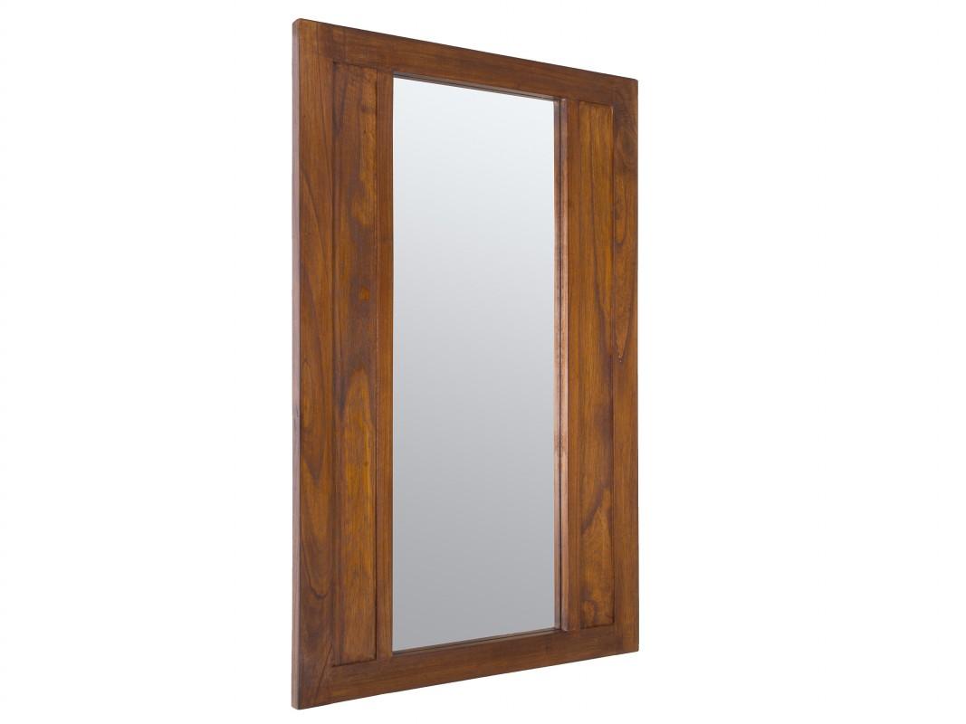 Espejo de madera estilo colonial cat logo espejos for Espejos decorativos de madera