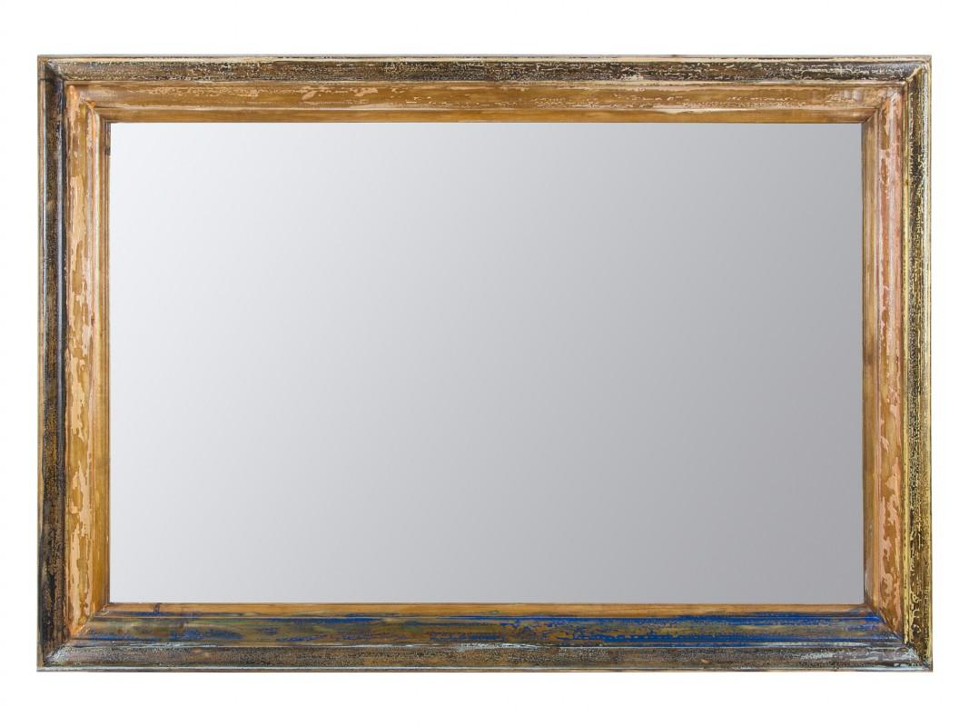 Espejos vintage de pared o de suelo con marcos decapados